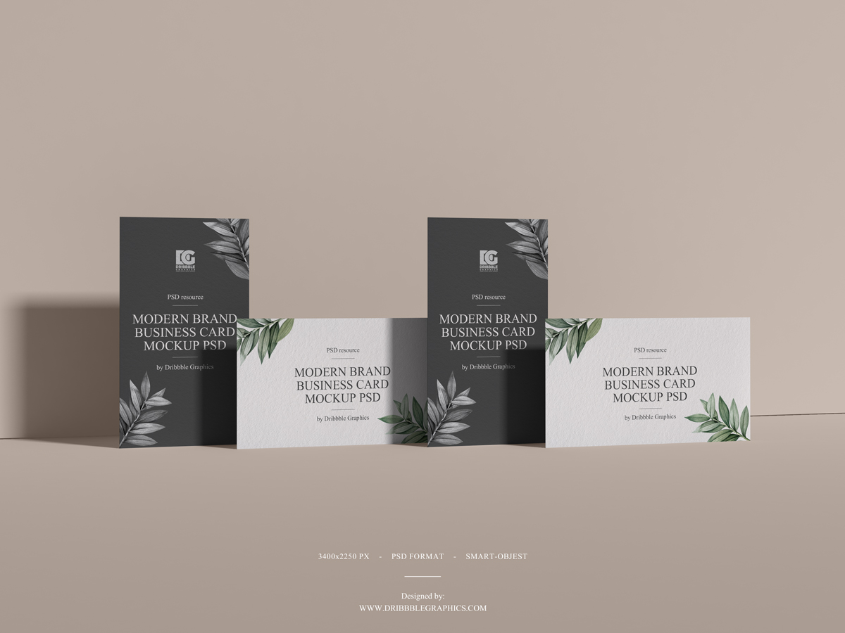 Free-Modern-Brand-Business-Card-Mockup-PSD-2019