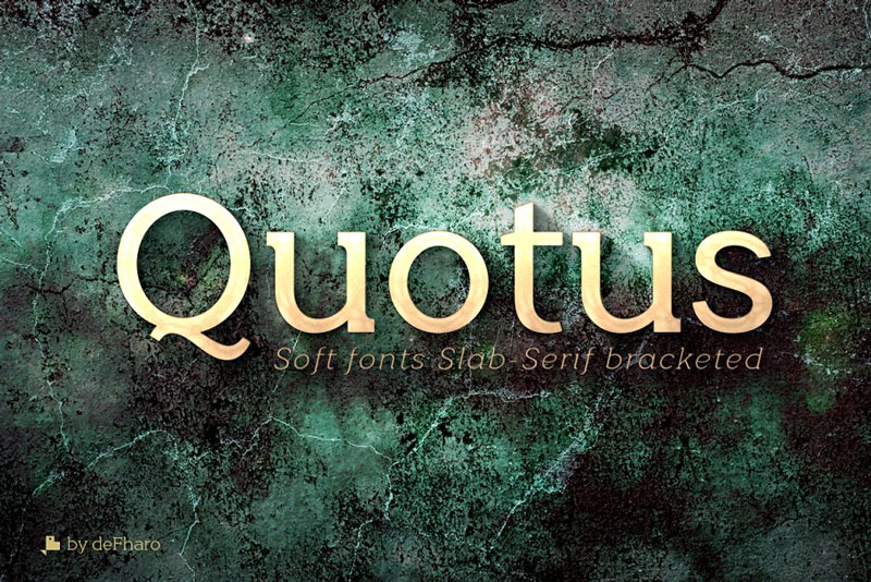 Quotus-Fonts-Slab-Serif-Bracketed
