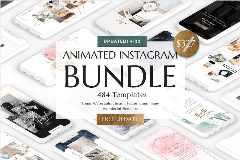 Animated-Instagram-Templates