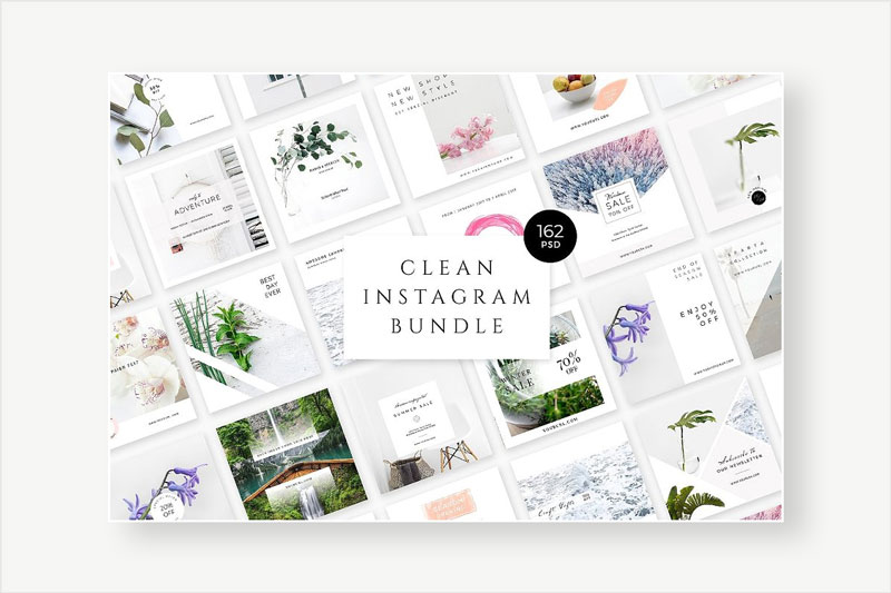 Clean-Instagram-Templates