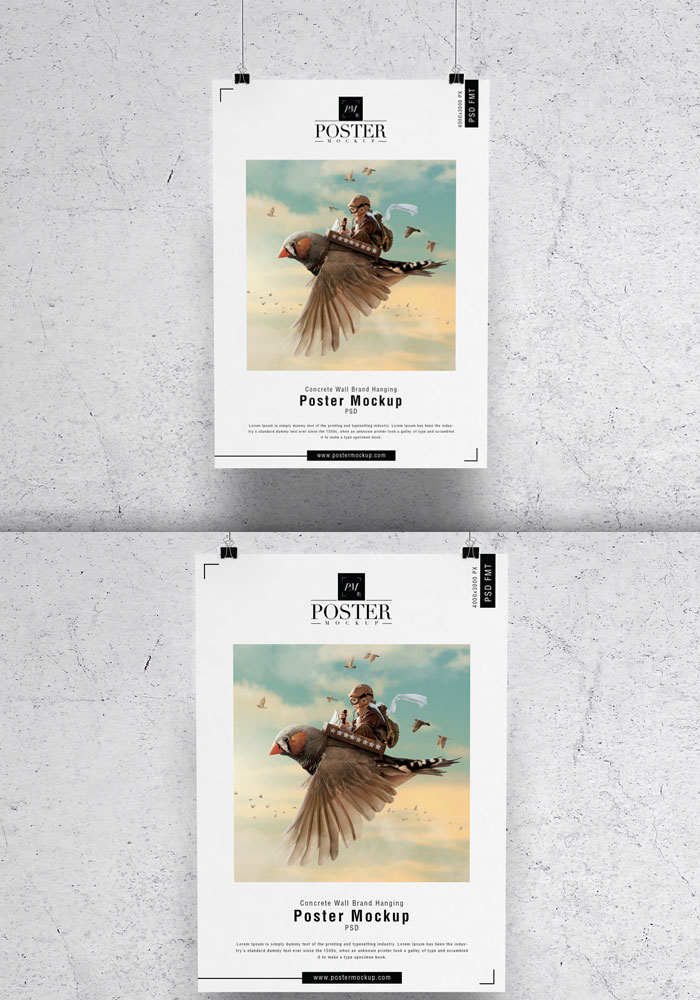 Concrete-Wall-Brand-Hanging-Poster-Mockup-PSD-16