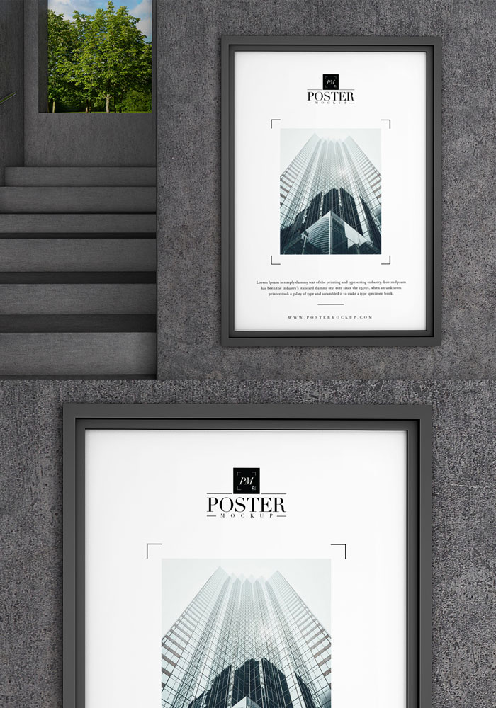Industrial-Interior-Concrete-Wall-Poster-Mockup-PSD-18