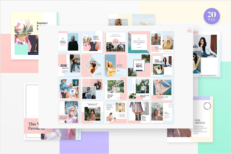Instagram-Pack-Palette