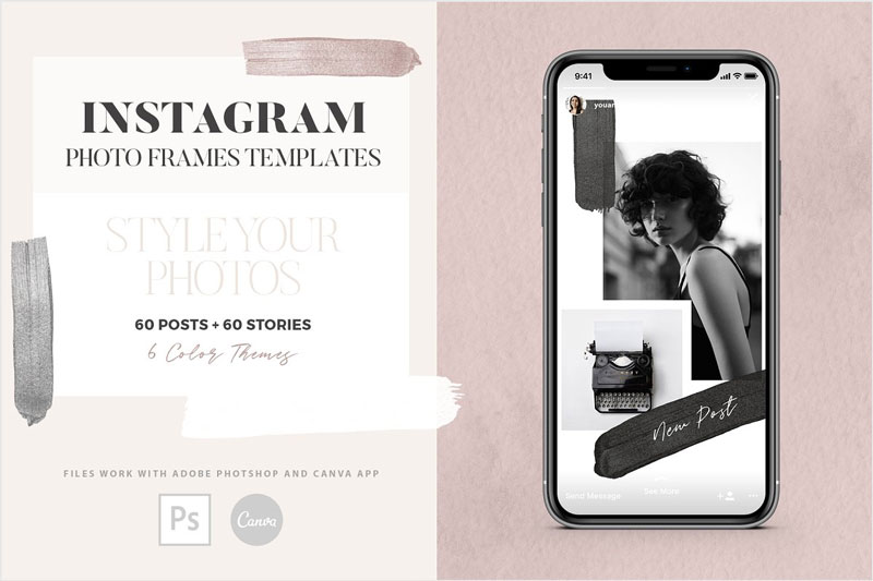 Instagram-Photo-Frames-Templates