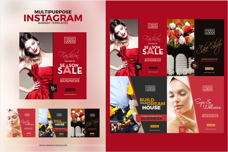 Multipurpose-Instagram-Banner-Templates
