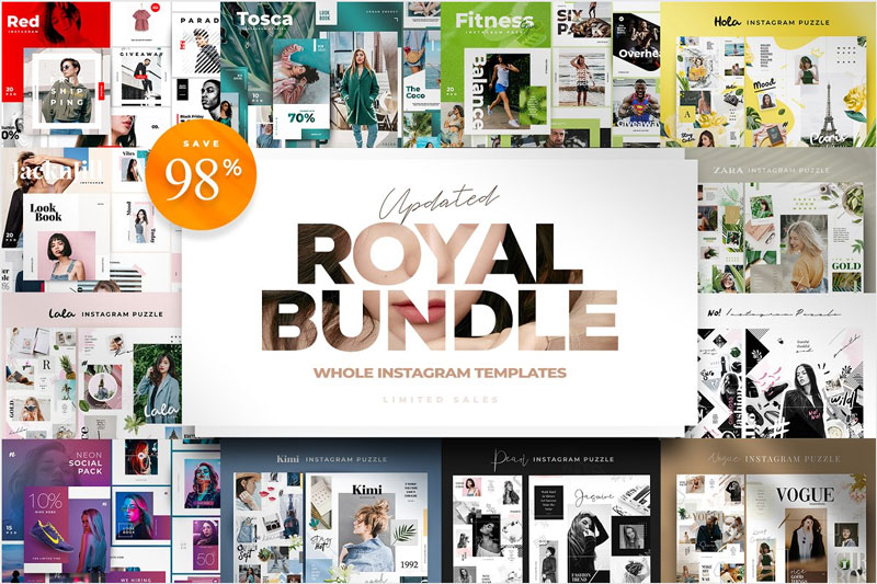 Royal-Instagram-Templates