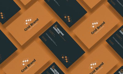 Free-Grid-Style-Business-Card-Mockup-300