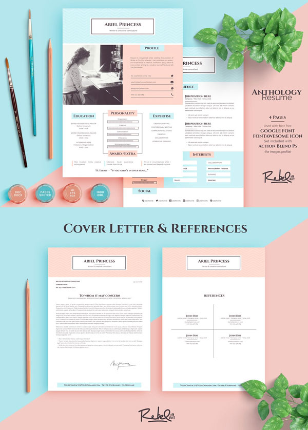 Anthology-Resume-CV-Template