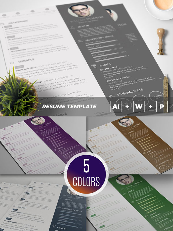 Clean-Resume-CV-Template
