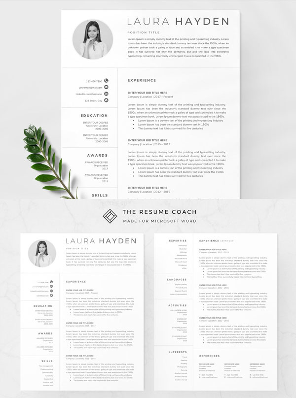 Clean-Resume-Template-For-All-Professional-Persons