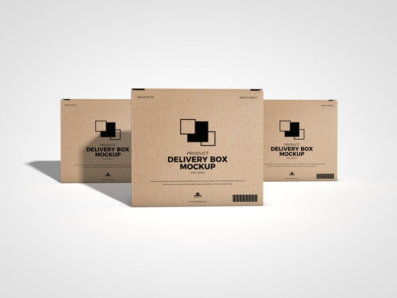 Free-Product-Delivery-Box-Mockup-For-Cargo