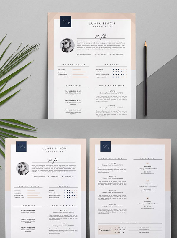 Lumia-CV-Resume-Template-For-Copywriter