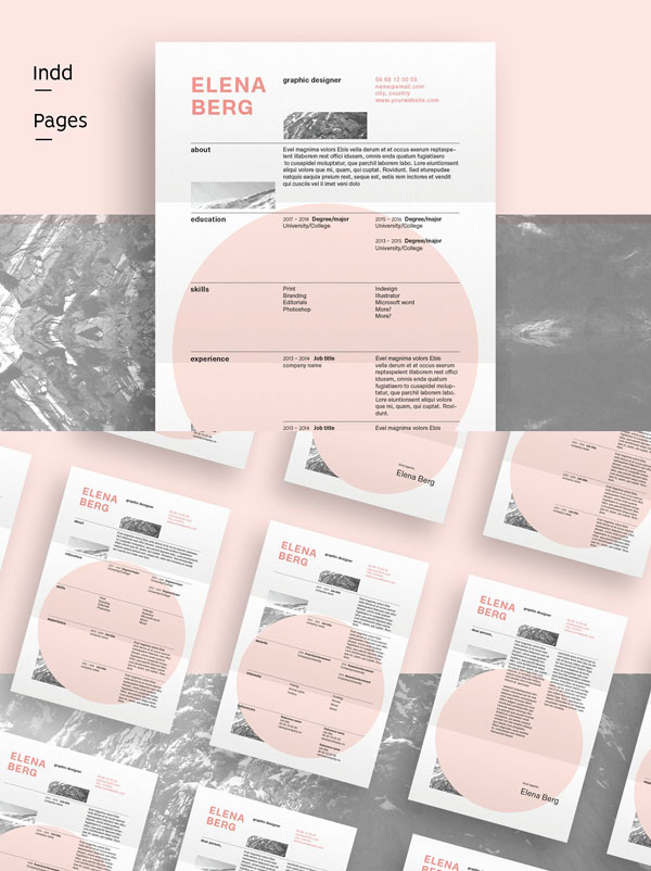 Mountain-Swiss-Resume-Template-For-Graphic-Designer