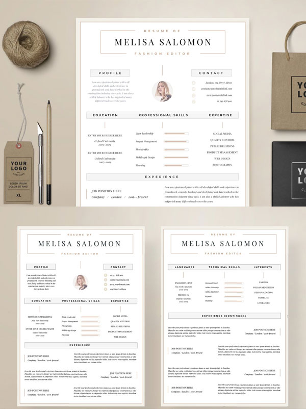 Zurich-Resume-Template