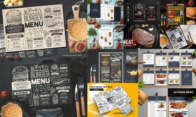 20-Food-&-Restaurant-Menu-Flyer-Templates