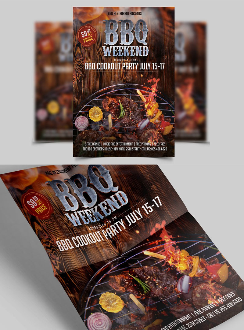 BBQ-Flyer-Design-Template