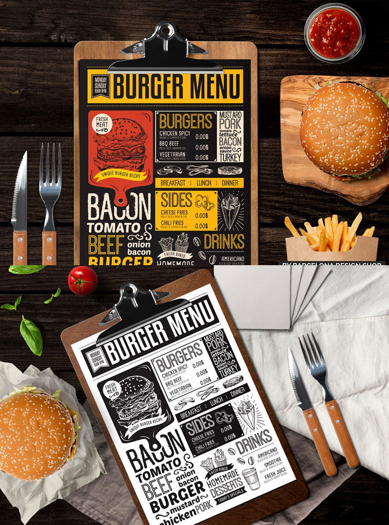 Burger-Food-Menu-Design-Template