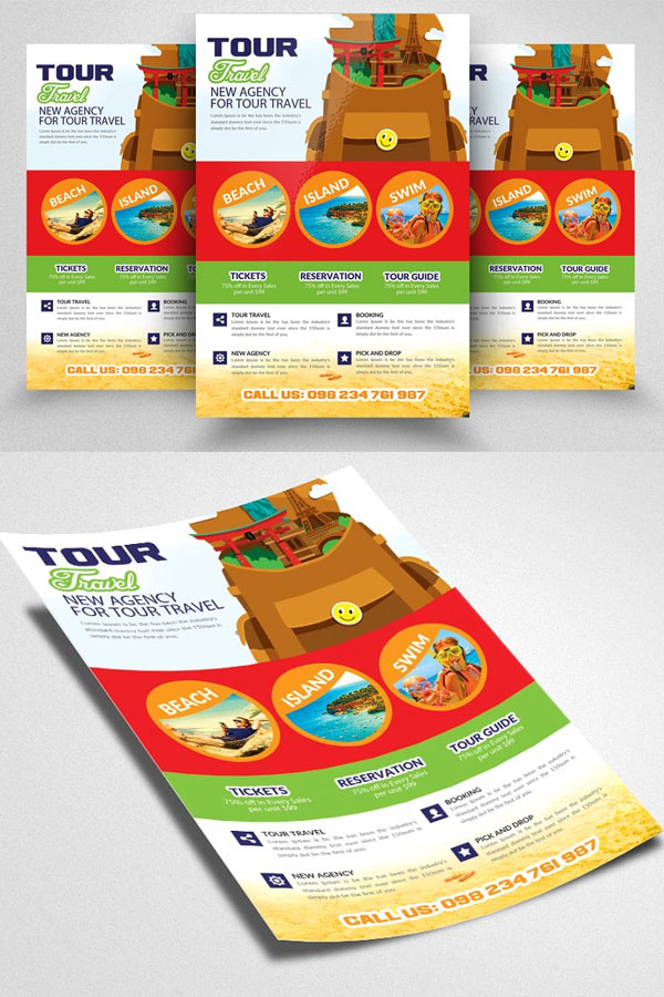 Flyer-Template-For-Travel-&-Tours