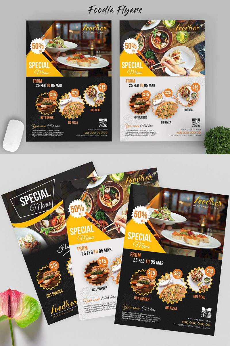 Food-Flyer-Templates