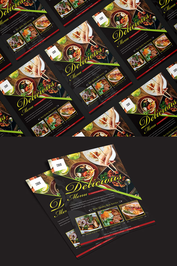 Food-Restaurant-Flyer-Template