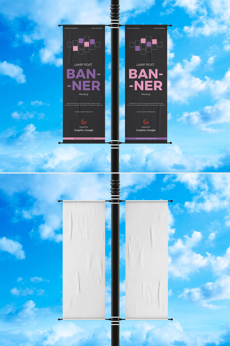 Free-Advertisement-Lamp-Post-Banner-Mockup