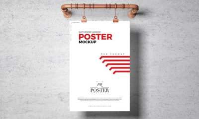 Free-PSD-Hanging-Poster-Mockup-Template-300
