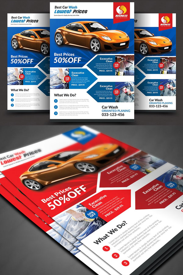 Modern-Flyer-Template-For-Car-Wash-Company-&-Services