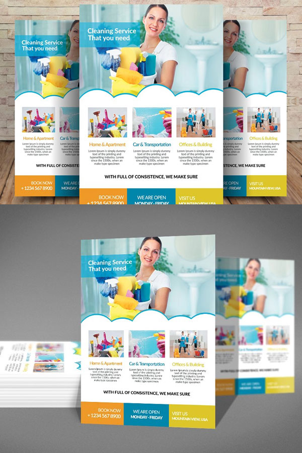 Modern-Flyer-Template-For-Cleaning-Services