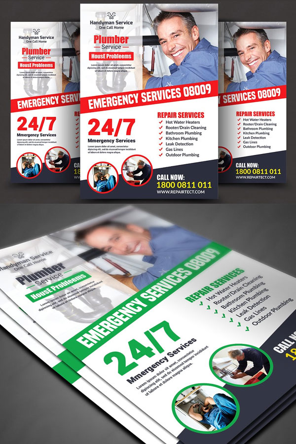 Modern-Flyer-Template-For-Plumber-Service