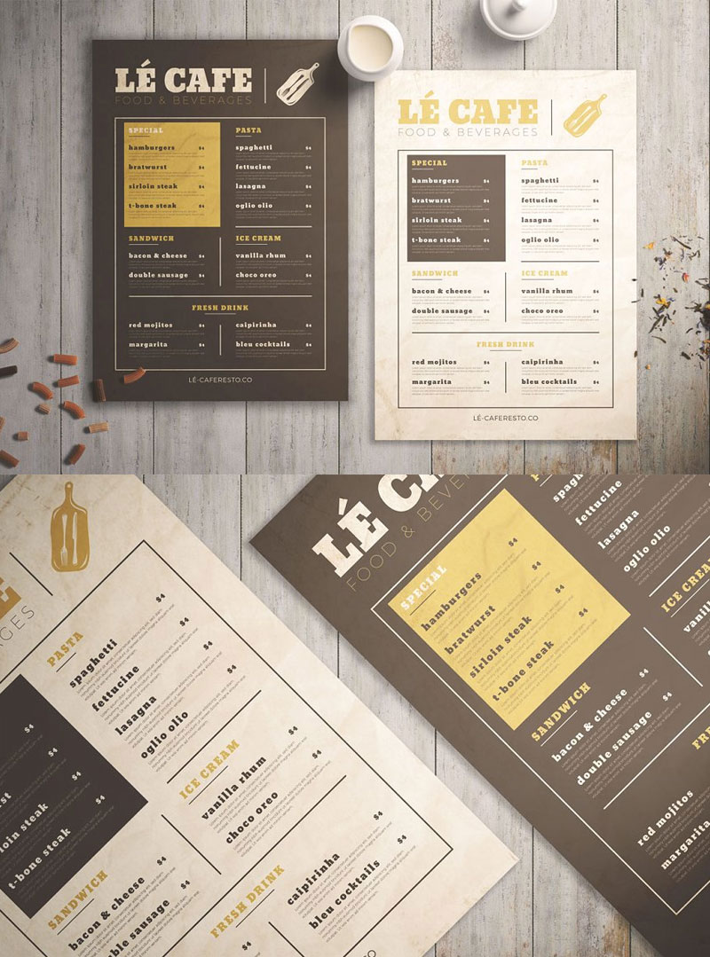 Vintage-Food-Menu-Template