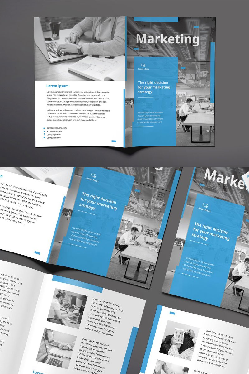 Bifold-Brochure-For-Marketing-Firm