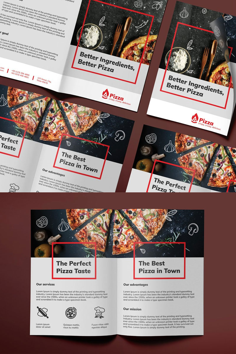 Bifold-Brochure-For-Pizza