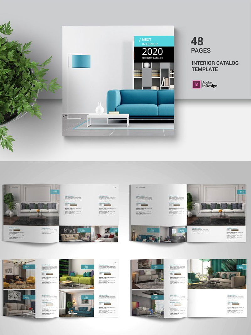 Brochure-Catalog-For-Interior-Products