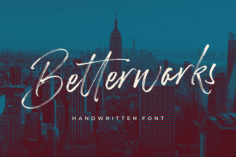 Free-Betterwork-Handwritten-Script-Demo-1