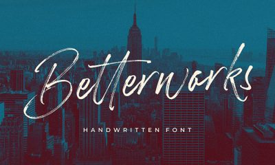 Free-Betterwork-Handwritten-Script-Demo