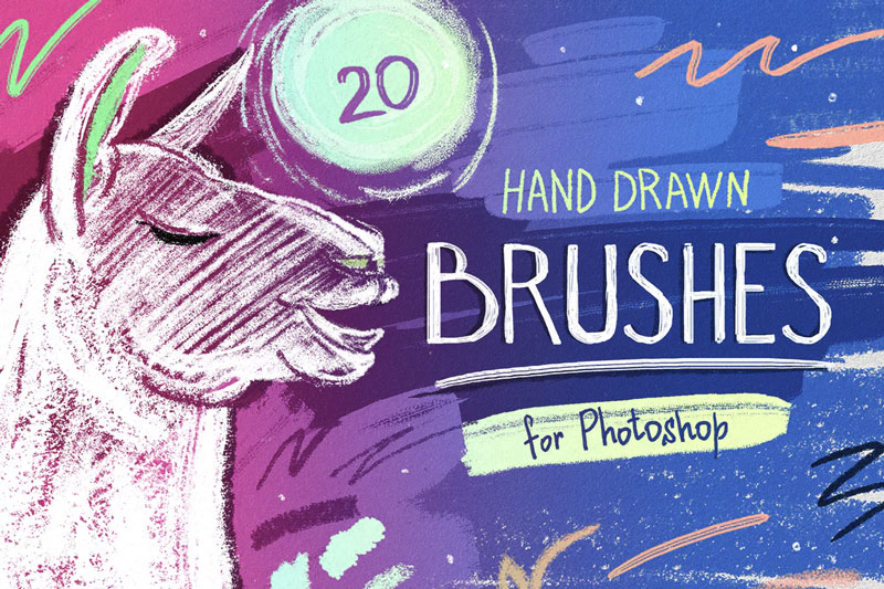 Essential-Hand-Drawn-Brushes-For-Photoshop-10