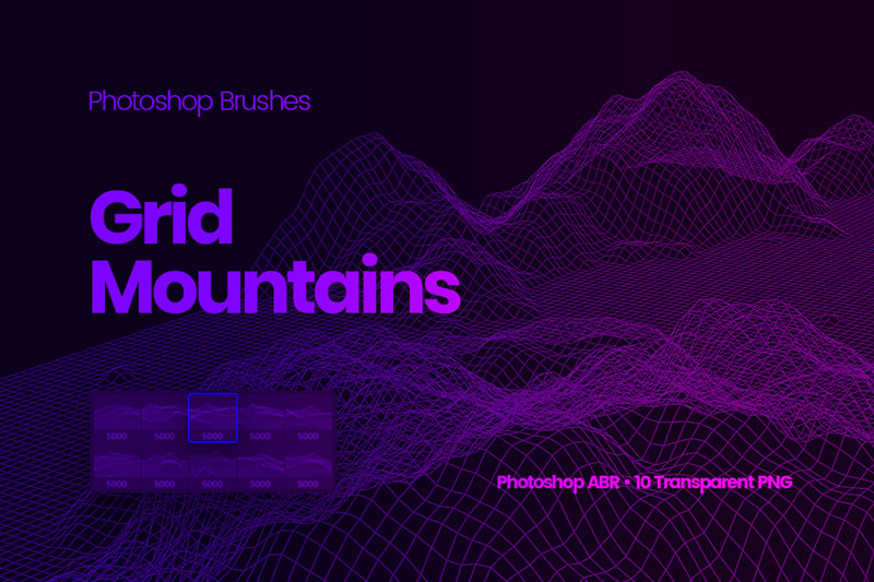 Grid-Mountains-Photoshop-Brushes-12