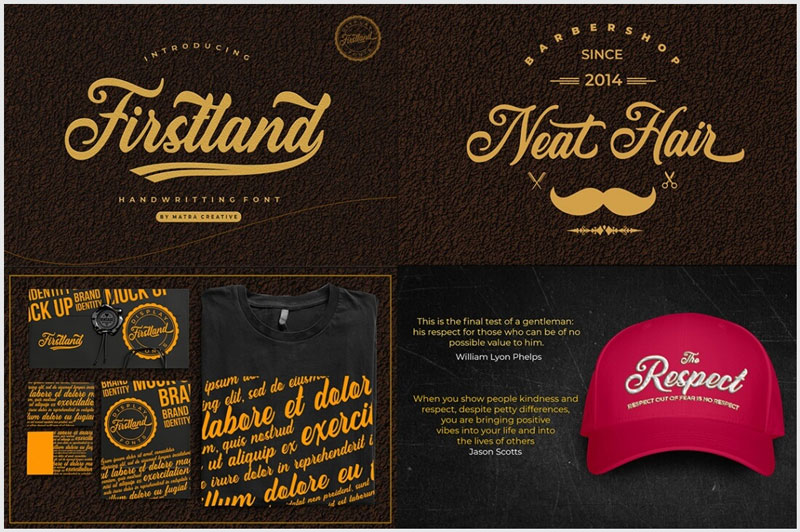 Firstland-Handwritting-Font