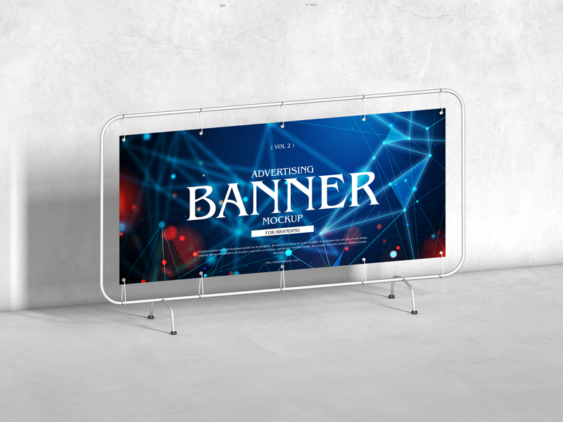 Free-Advertising-Banner-Mockup-For-Branding-Vol-2