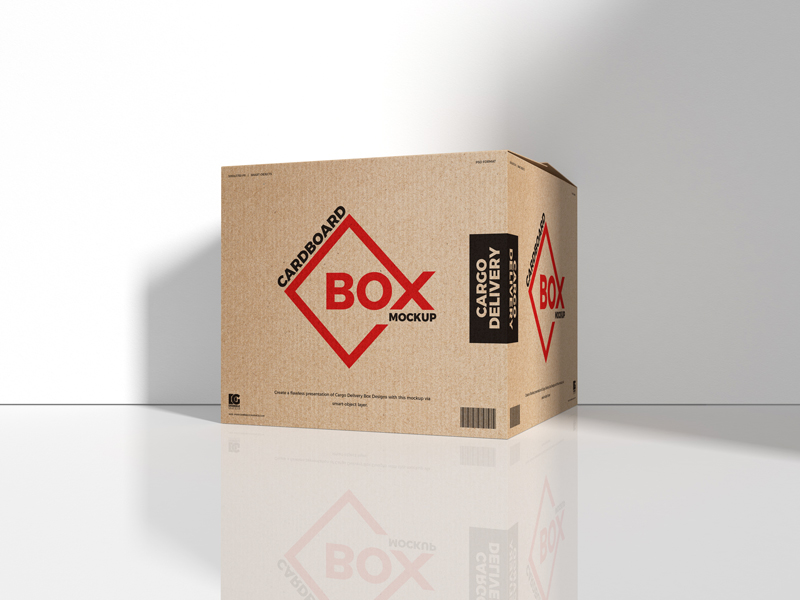Free-Cargo-Delivery-Cardboard-Box-Mockup
