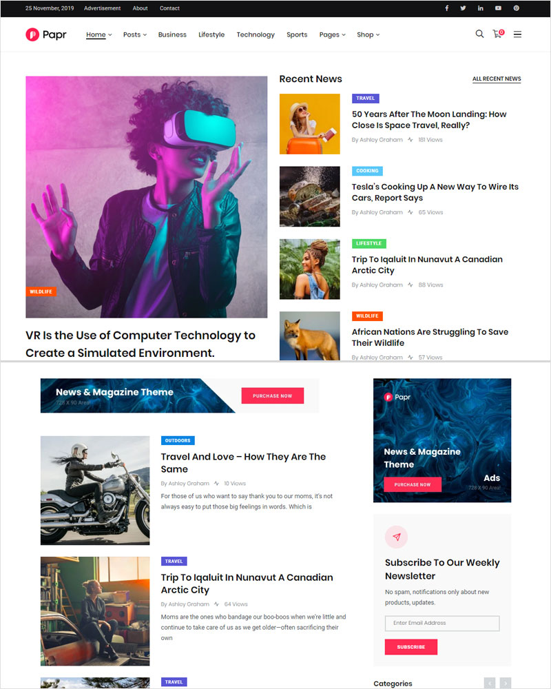 News-Papr-News-Magazine-WordPress-Theme-2020