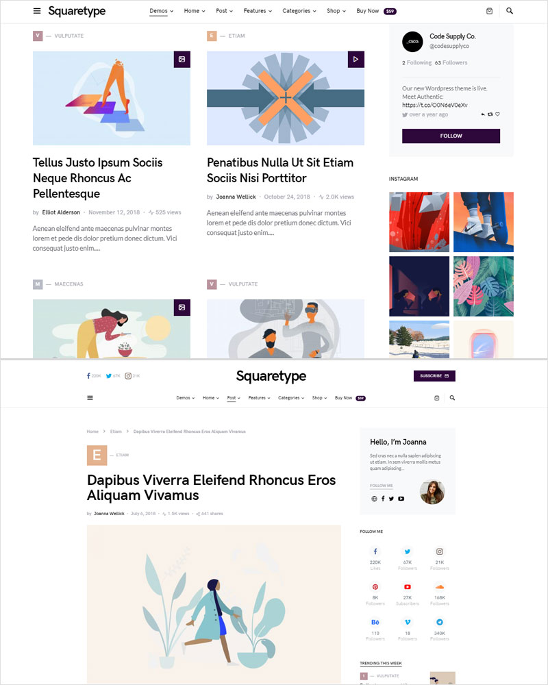 Squaretype-Modern-Blog-Magazine-WordPress-Theme-2020