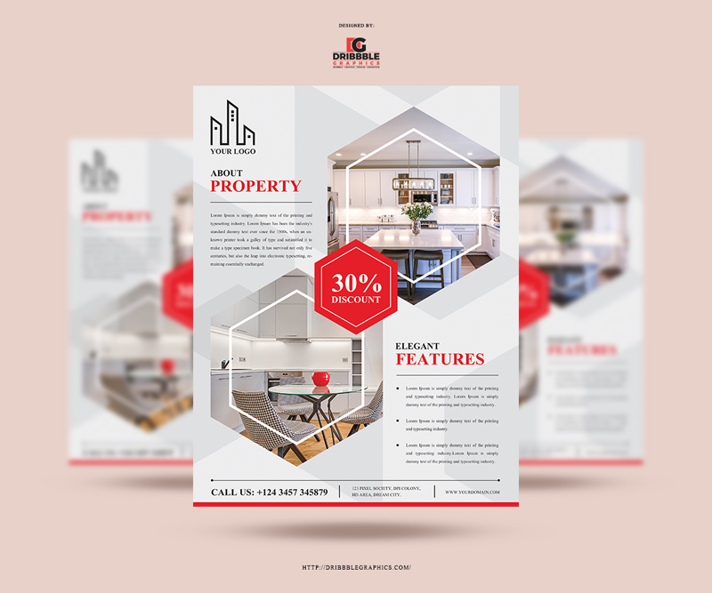 Free-Real-Estate-Flyer-Design-Template