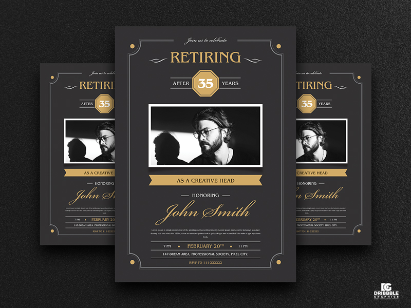 Free-Retirement-Invitation-Flyer-Template