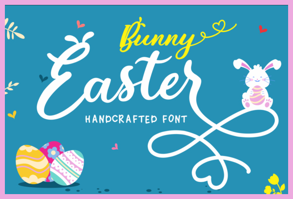 Bunny-Easter-Font-2