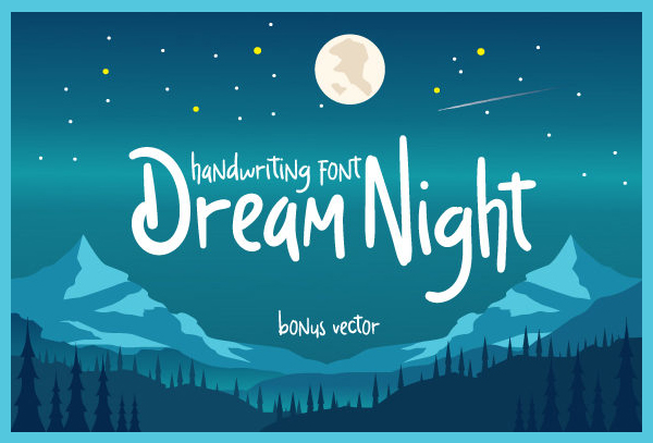 Dream-Night-Font-6