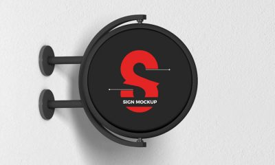 Free-Modern-Advertising-Round-Sign-Mockup-300