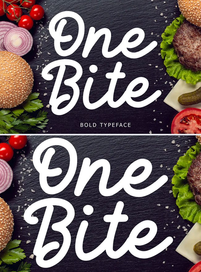 One-Bite-Bold-Typeface-For-Fast-Food-Designs