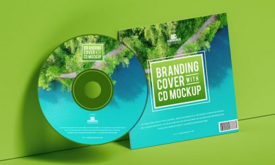 Free-Branding-Cover-With-CD-Mockup-300