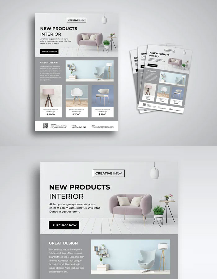 Interior-New-Products-Flyer-Design-Template-9